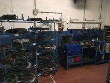 Produzione tubazione oleodinamica in alta pressione e riparazione pistoni idraulici