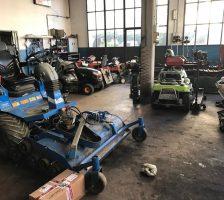 Riparazione macchine da giardinaggio